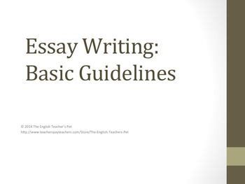 How to make good introduction for essay